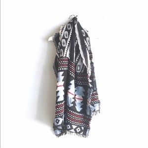 Akira Chicago Large Blanket Scarf